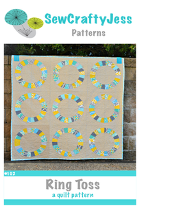 Image of Ring Toss Quilt Pattern
