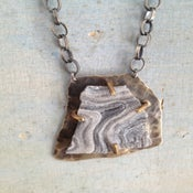 Image of Medium Geode Pendant