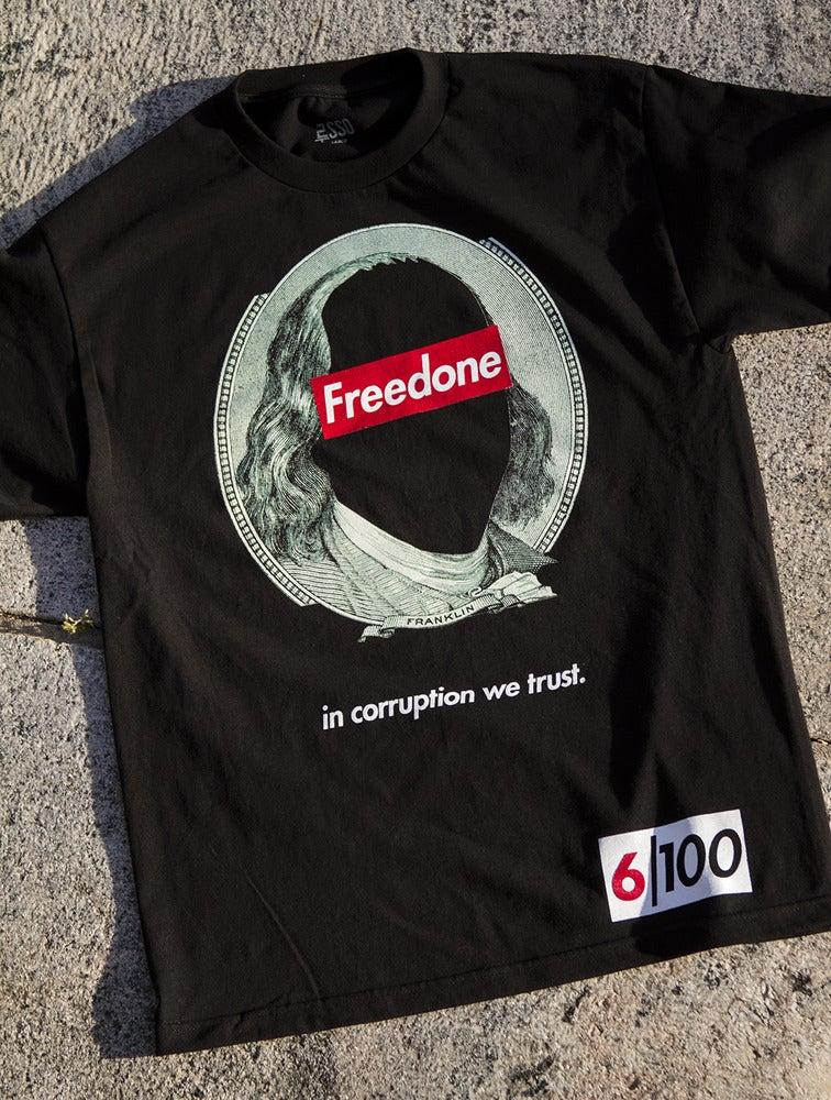 """Image of """"Corruption"""" tee - Black"""
