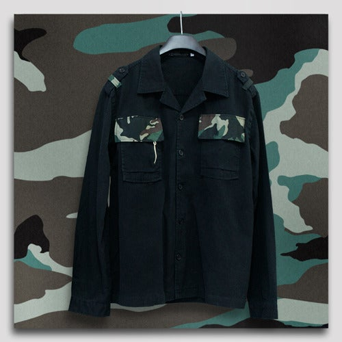 Image of DX Army Jacket (Black)