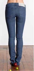 Image of Kochi Colored  Skinny Jean In Indigo wash