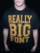 Image of Really Big Font