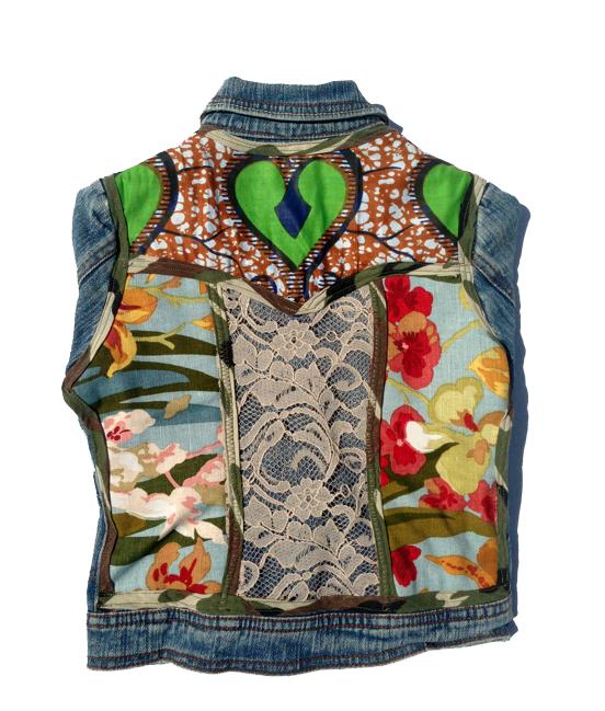 Image of Mix Master Denim Jacket- Blue