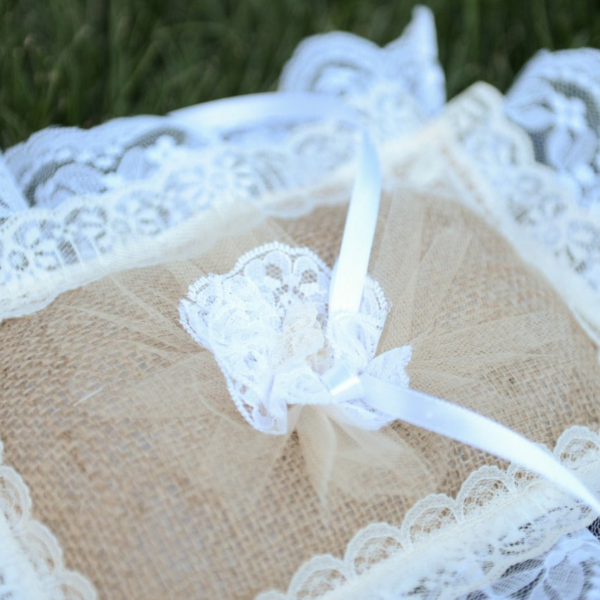 Image of Bianca Ring Bearer Pillow