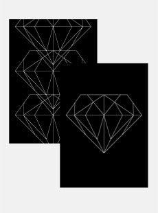Image of Diamond Posters SET