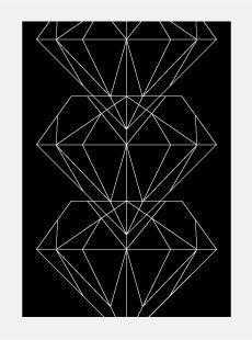 Image of Pattern Diamond Poster