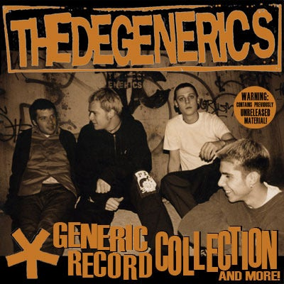 The Degenerics Generic Record Collection