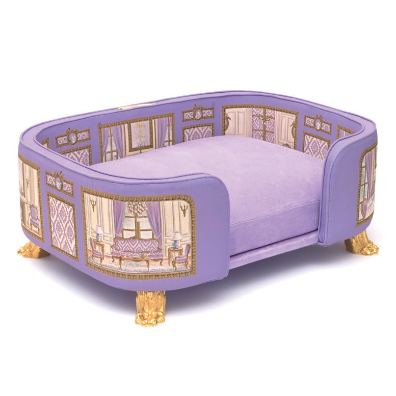 Image of Canape baron haussan violet