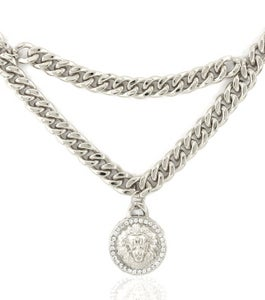 Image of Blinged Out Lion drape necklace