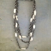 Image of Stick Pearl Multi-Station Necklace