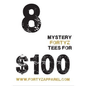 "Image of FORTYZ  ""8 MYSTERY TEE"" BOX"