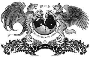Image of MiDFur 2012: DarkNatasha Official Shirt