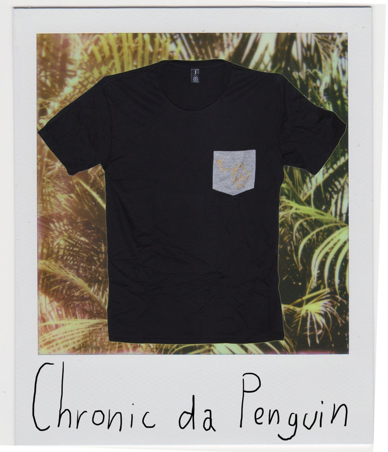 Image of Chronic Da Penguin Pocket Tee