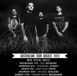 Image of PERTH - TICKET Senses Fail [9th August 2013]
