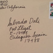 "Image of Clare Crespo : ""Sealed Letter to Dali"""