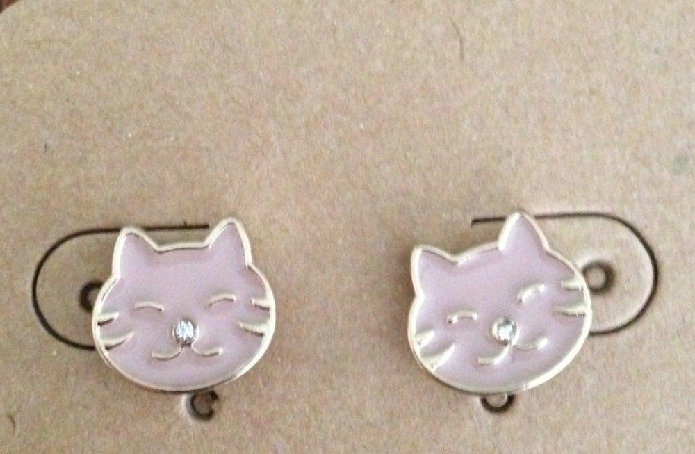 Image of Smitten Kitten Earrings