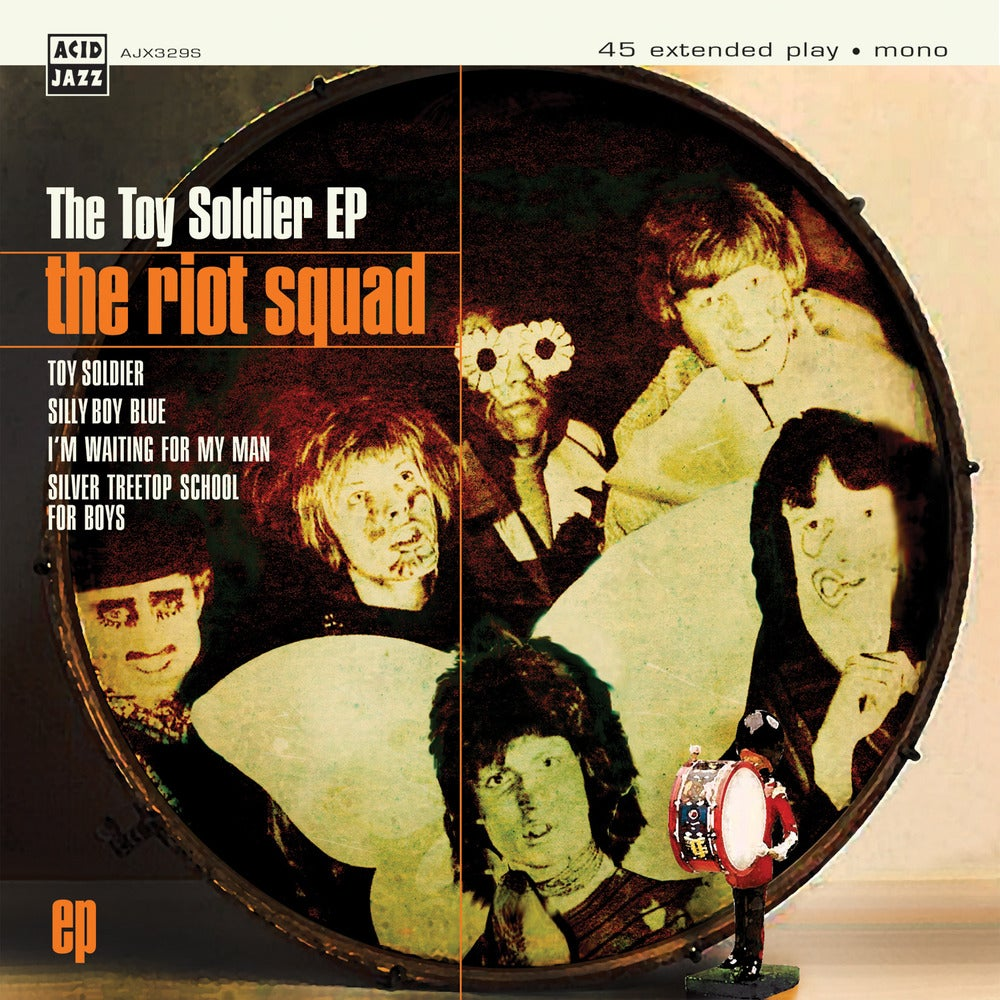 Image of The Riot Squad - The Toy Soldier Featuring David Bowie EP 7""