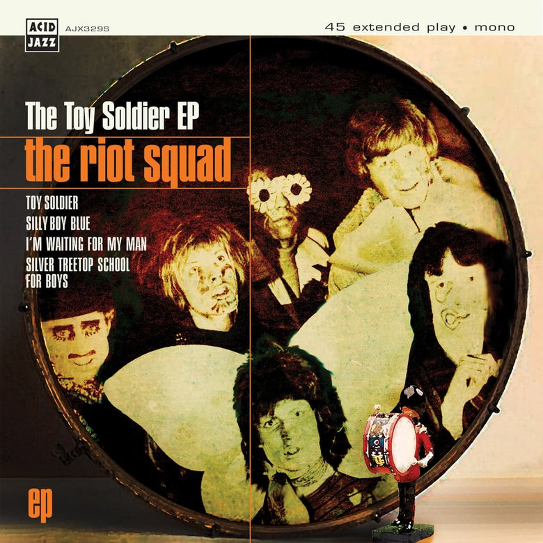 """Image of The Riot Squad - The Toy Soldier Featuring David Bowie EP 7"""""""