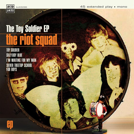 Image of FREE UK P&P! The Riot Squad - The Toy Soldier EP 7""