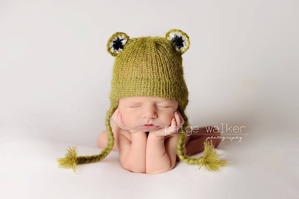 Image of Little Froggy Hat/Short Set