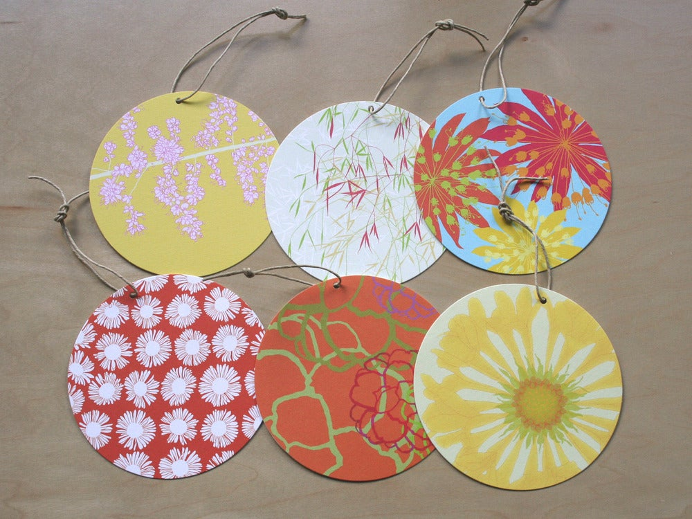 Image of Circle Tag - Pack of 6 - F