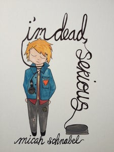 """Image of """"I'm Dead, Serious"""" reissue on Poor Little Dead Guy Records"""