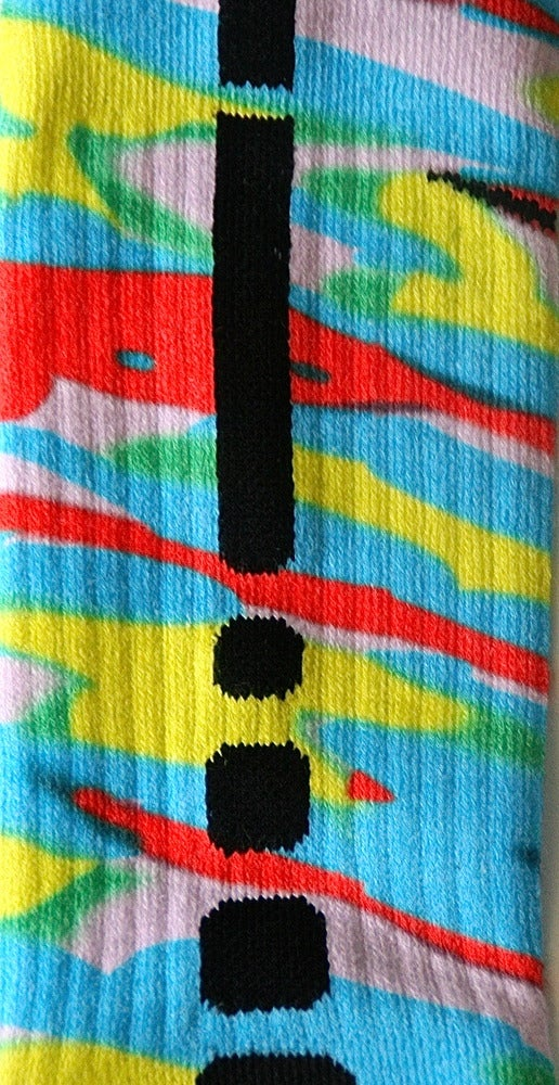 Image of Kobe Venice Beach Custom Nike Elite Socks