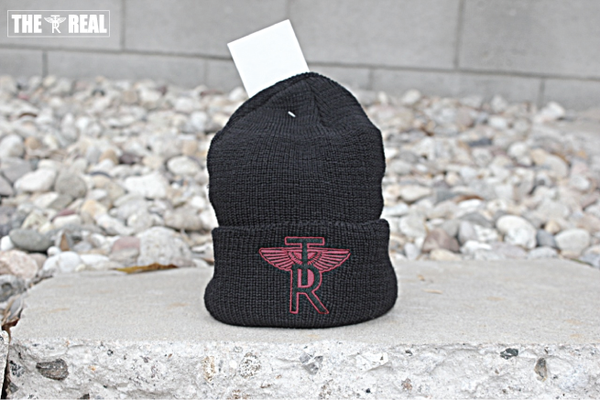 Image of TR Wings Cuffed Wool Beanie