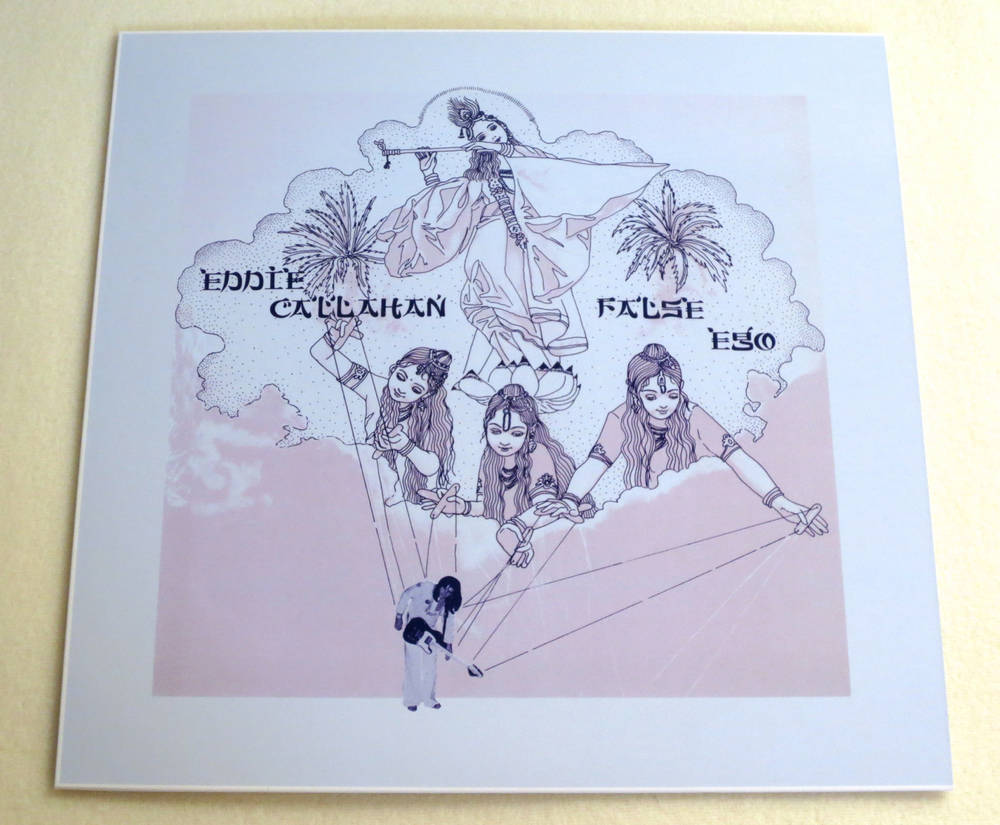 Image of EDDIE CALLAHAN ~ FALSE EGO ~ lp (TIME-LAG 056)