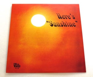 Image of LARRY 'SUNSHINE' RICE ~ HERE'S SUNSHINE ~ lp (TIME-LAG 053)
