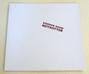 Image of STEPHEN DAVID HEITKOTTER ~ HEITKOTTER ~ lp (TIME-LAG 052)