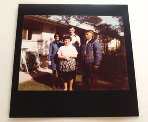 Image of WOODS FAMILY CREEPS ~ WOODS FAMILY CREEPS ~ lp (TIME-LAG 049)