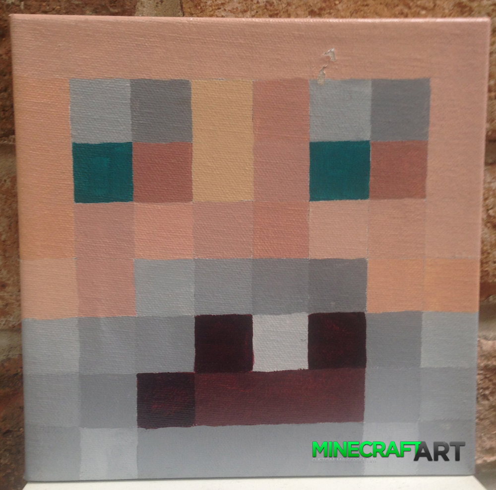 How To Craft An Painting On Minecraft