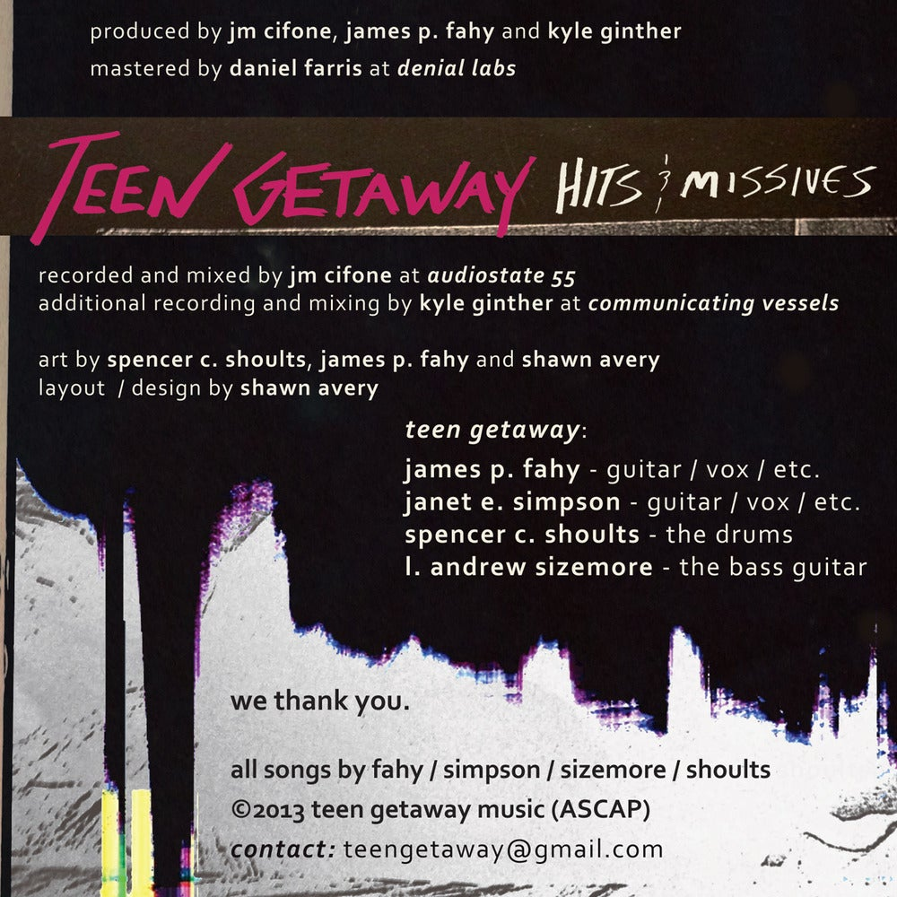 Image of Teen Getaway - Hits and Missives