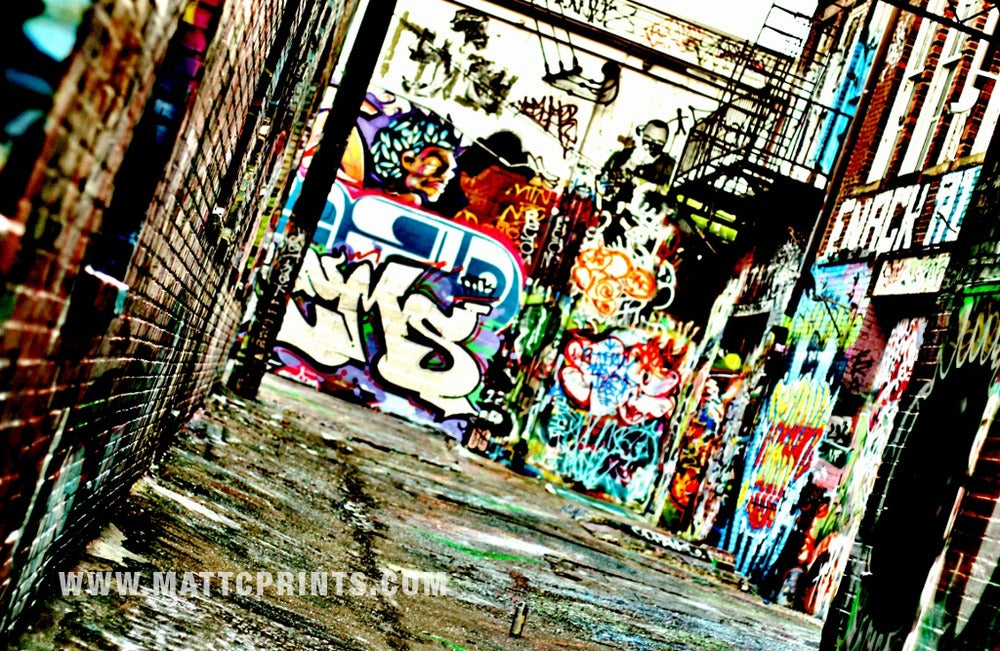 Image of Graffiti Alley Part 2