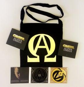 Image of Caspa - Alpha Omega Album Bag Pack