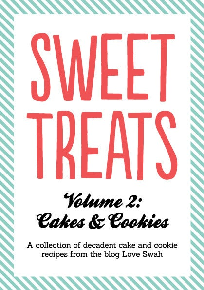 Image of Sweet Treats Volume 2: Cakes and Cookies