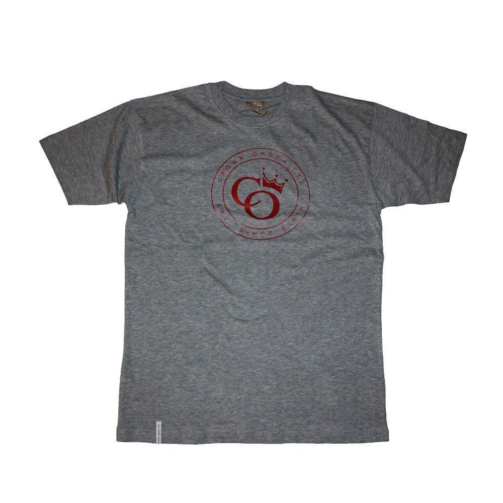 Image of Grey Tee X Crown Order LTD