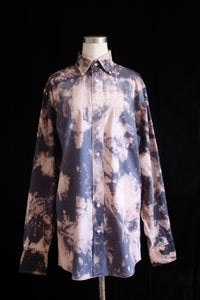 "Image of Dress Shirt, Gray ""Glacial Calve"" Pattern"