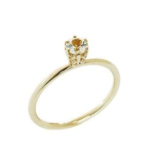 Image of Filigree Solitair Ring
