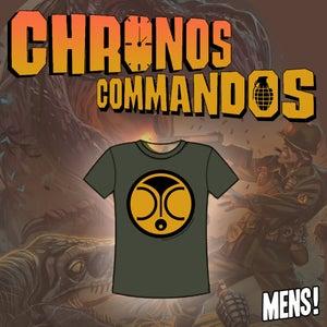Image of Chronos Commandos T-shirts Mens Green