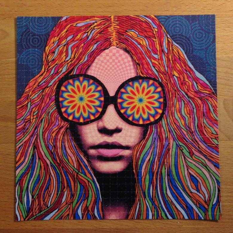 Image of Girl With Kaleidoscope Eyes