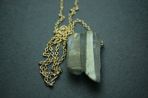 Image of Titanium Quartz Necklace