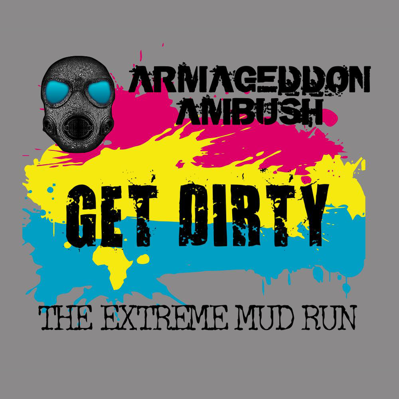 "Image of Paint Ambusher's ""Get Dirty"" Design"