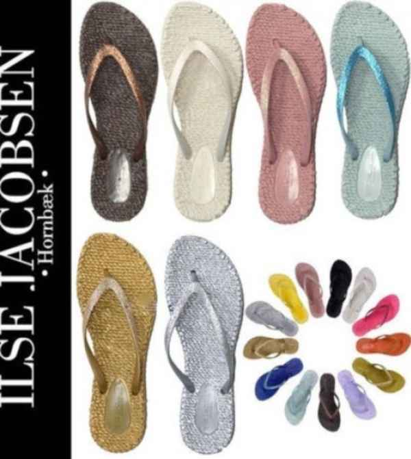 Image of Ilse Jacobsen Rubber Flip-Flops
