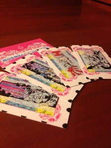 Image of IP Trading Cards :: Set 1 (4 pack)