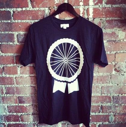 Image of Black PBR Bike Wheel - tshirt