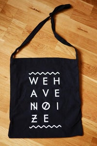 Image of WE HAVE NOIZE LOGO - TOTE BAG