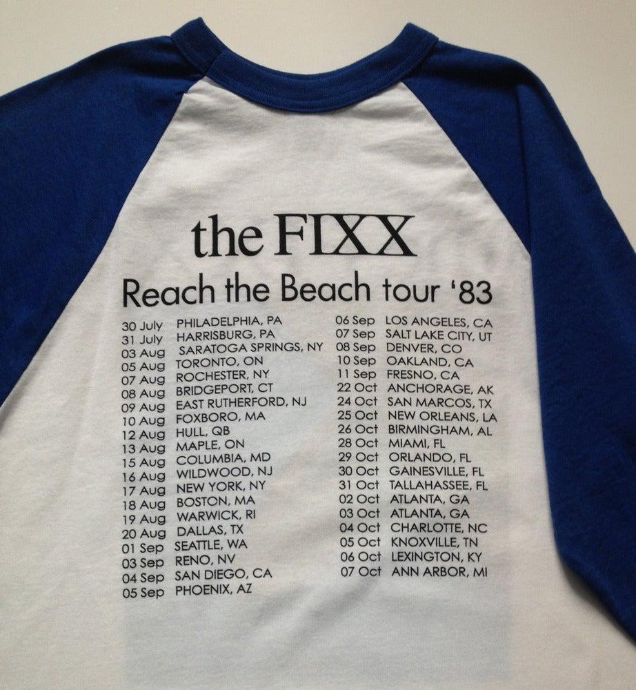 "Image of The Fixx - ""Reach The Beach"" Long-Sleeved Tee"