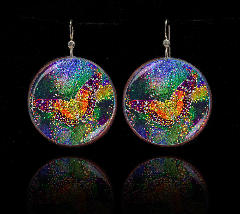 Image of Butterfly Transformation Earrings - Release your inner beauty